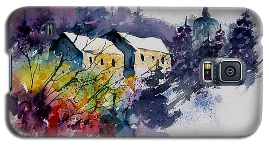 River Galaxy S5 Case featuring the painting Watercolor 231207 by Pol Ledent