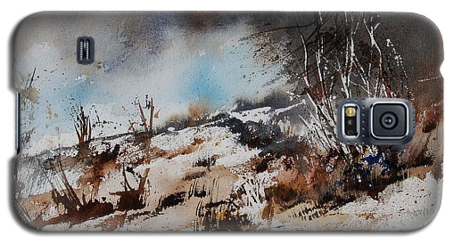 River Galaxy S5 Case featuring the painting Watercolor Jjook by Pol Ledent