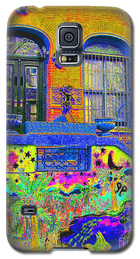 Harlem Galaxy S5 Case featuring the photograph Wax Museum Harlem Ny by Steven Huszar