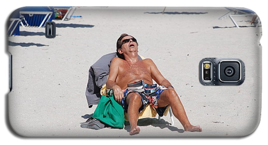 Beach Galaxy S5 Case featuring the photograph Weekend At Bernies by Rob Hans
