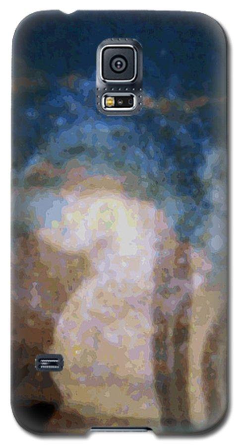 Rainbow Colors Digital Galaxy S5 Case featuring the photograph Wehewehe Moeuhane by Kenneth Grzesik