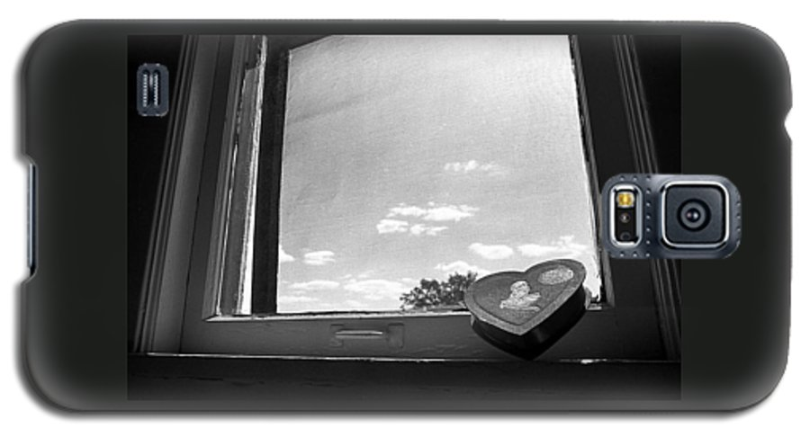 Window Galaxy S5 Case featuring the photograph What Remains by Ted M Tubbs
