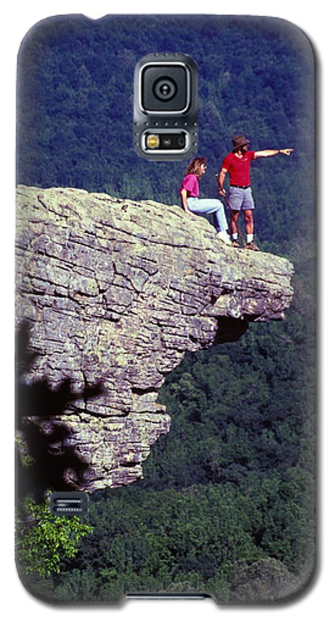 Geological Galaxy S5 Case featuring the photograph Whittiker Point In Arkansas by Carl Purcell
