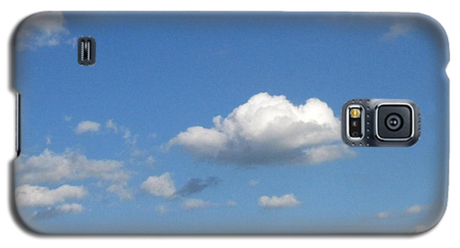 Clouds Galaxy S5 Case featuring the photograph Wide Open by Rhonda Barrett