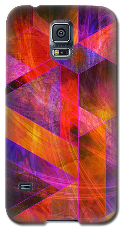 Wild Fire Galaxy S5 Case featuring the digital art Wild Fire by John Beck