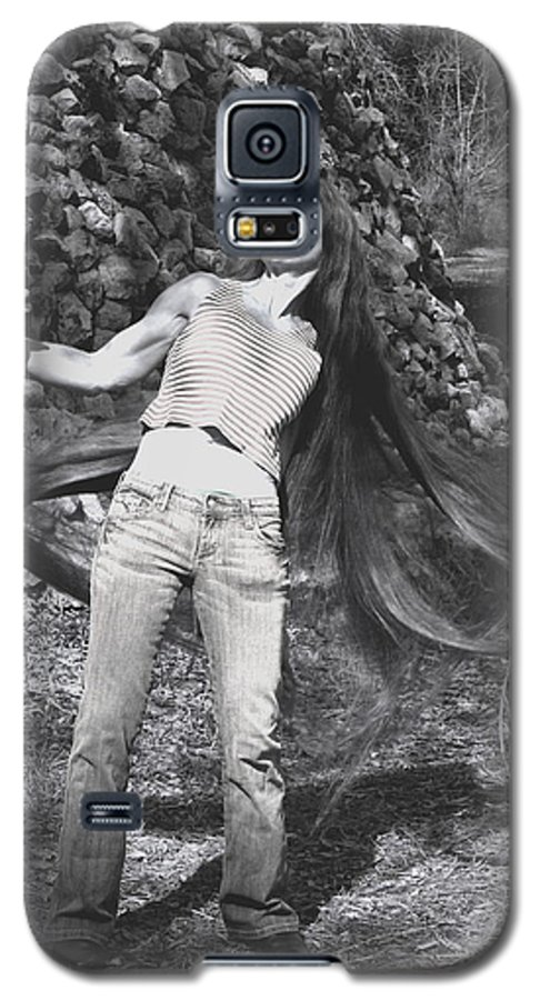 Hair Galaxy S5 Case featuring the photograph Wild Hair by Debbie May