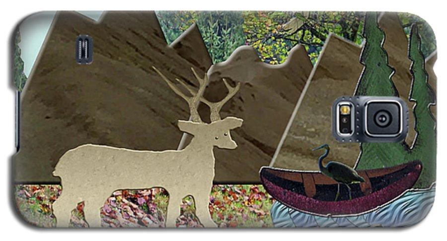 Wild Rural Galaxy S5 Case featuring the photograph Wild Rural Animals by Rockin Docks Deluxephotos