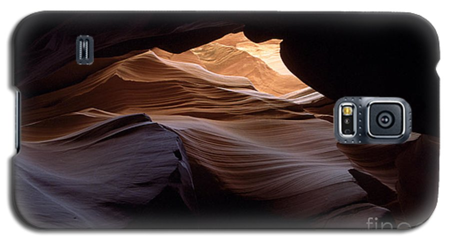 Antelope Canyon Galaxy S5 Case featuring the photograph Wind And Water by Kathy McClure