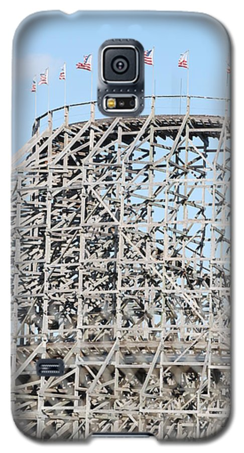 Pop Art Galaxy S5 Case featuring the photograph Wooden Coaster by Rob Hans