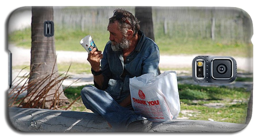 Man Galaxy S5 Case featuring the photograph Worldly Posessions by Rob Hans