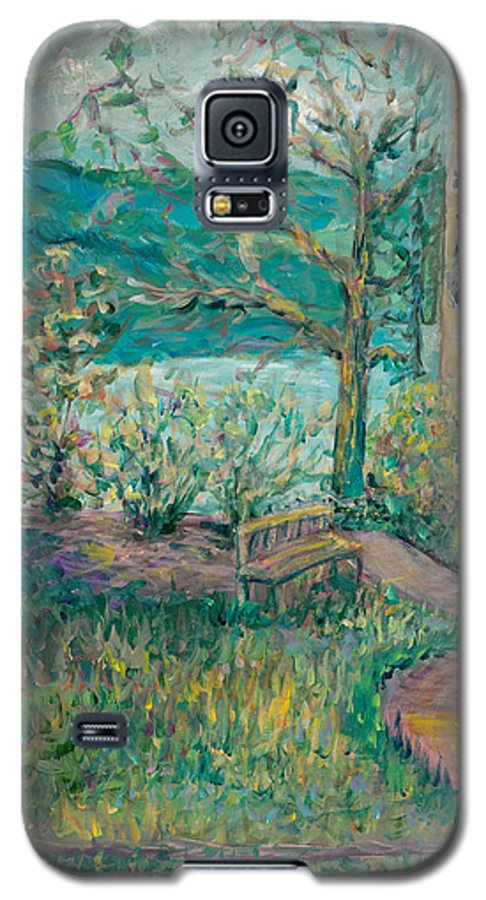 Big Cedar Lodge Galaxy S5 Case featuring the painting Worman House At Big Cedar Lodge by Nadine Rippelmeyer