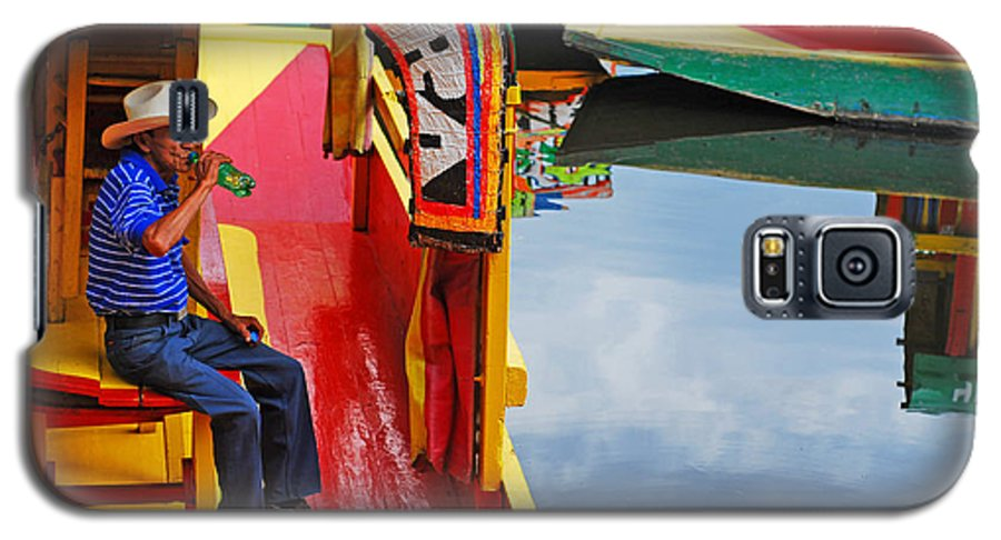 Skip Hunt Galaxy S5 Case featuring the photograph Xochimilco by Skip Hunt