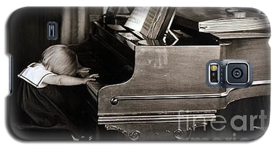 Piano Galaxy S5 Case featuring the photograph Young Beethoven by Michael Ziegler