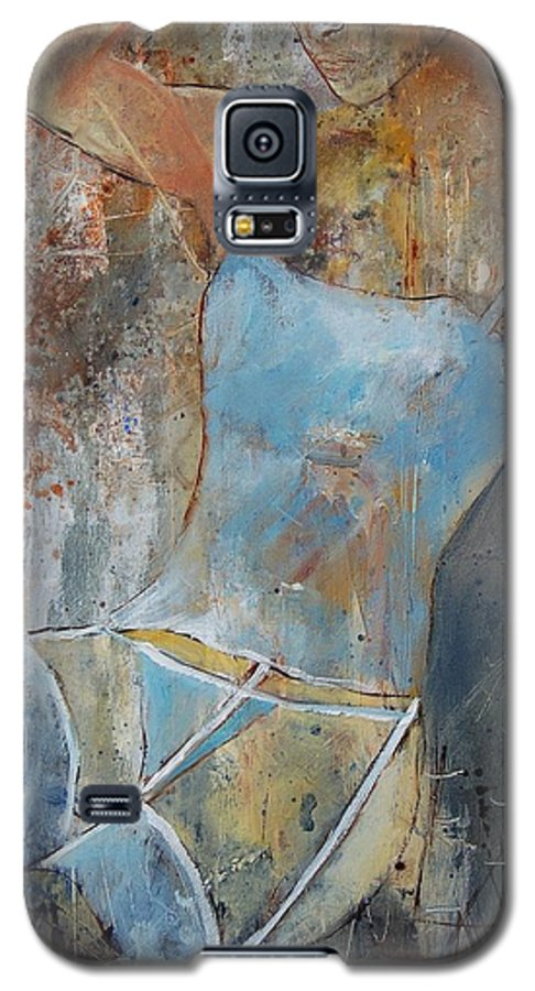 Nude Galaxy S5 Case featuring the painting Young Girl 451108 by Pol Ledent