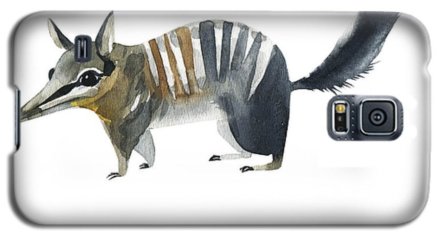 Forest Galaxy S5 Case featuring the digital art Australian Animals Watercolor by Kat branches