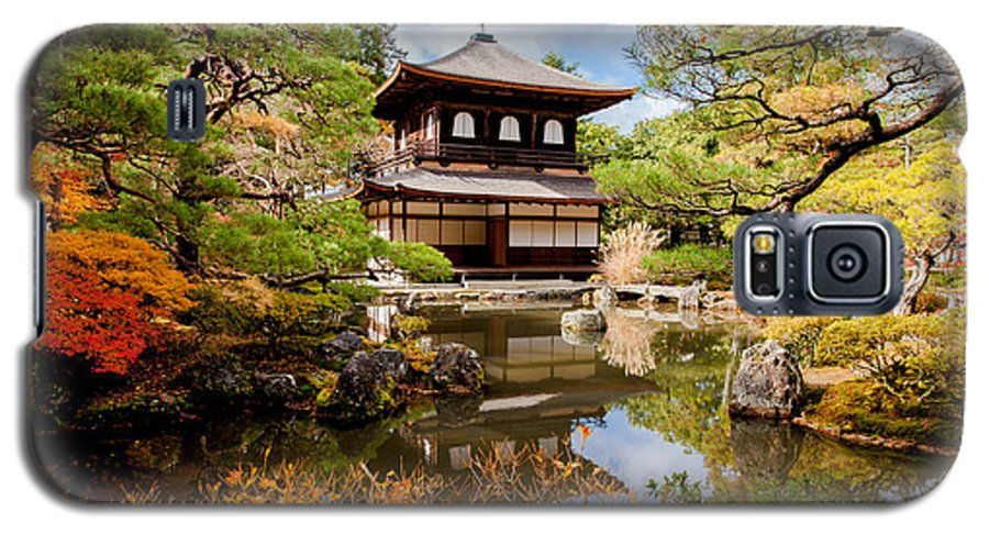 Harmony Galaxy S5 Case featuring the photograph Ginkakuji Temple - Kyoto, Japan by Pigprox