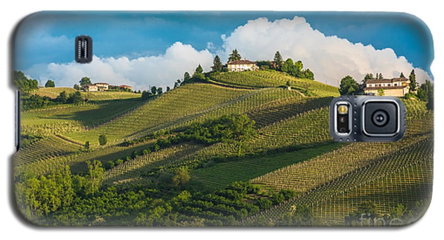 Country Galaxy S5 Case featuring the photograph Vineyards Of Langhe, Piedmont, Unesco by Javarman