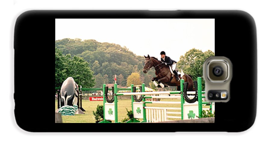Horse Galaxy S6 Case featuring the photograph 111708-1 by Mike Davis