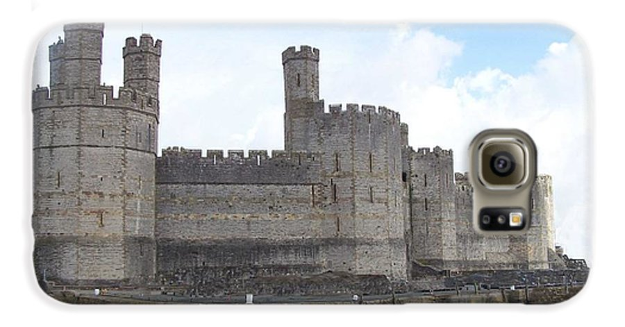 Castles Galaxy S6 Case featuring the photograph Caernarfon Castle by Christopher Rowlands
