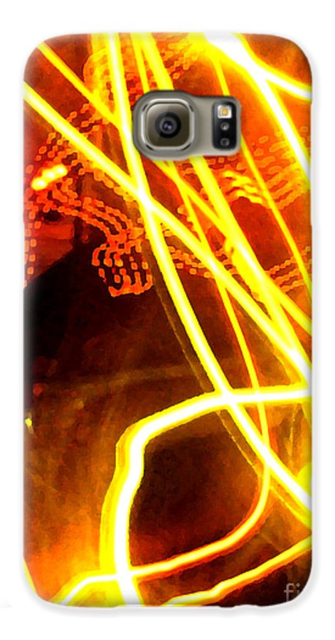Abstract Galaxy S6 Case featuring the photograph Abstract by Amanda Barcon