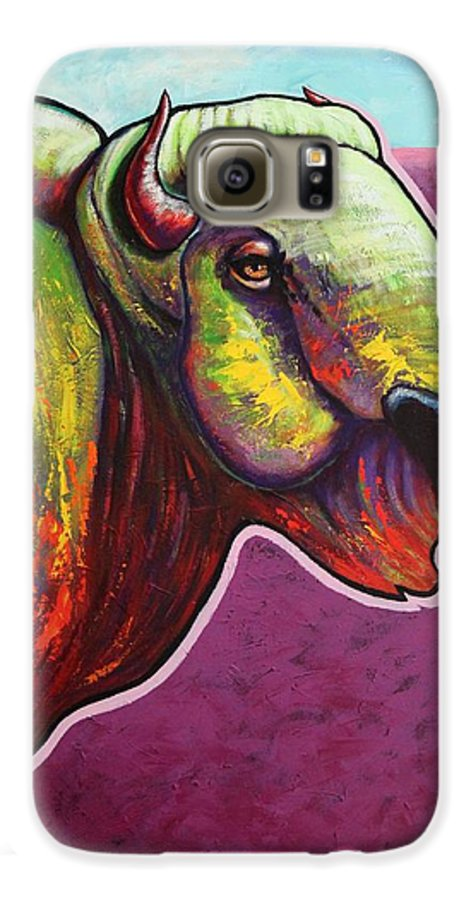 Wildlife Galaxy S6 Case featuring the painting American Monarch by Joe Triano