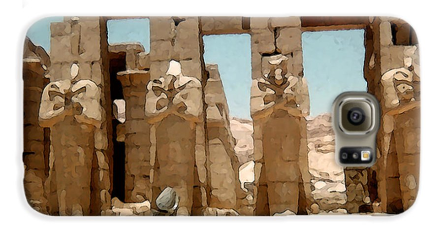Art Galaxy S6 Case featuring the photograph Ancient Egypt by Piero Lucia