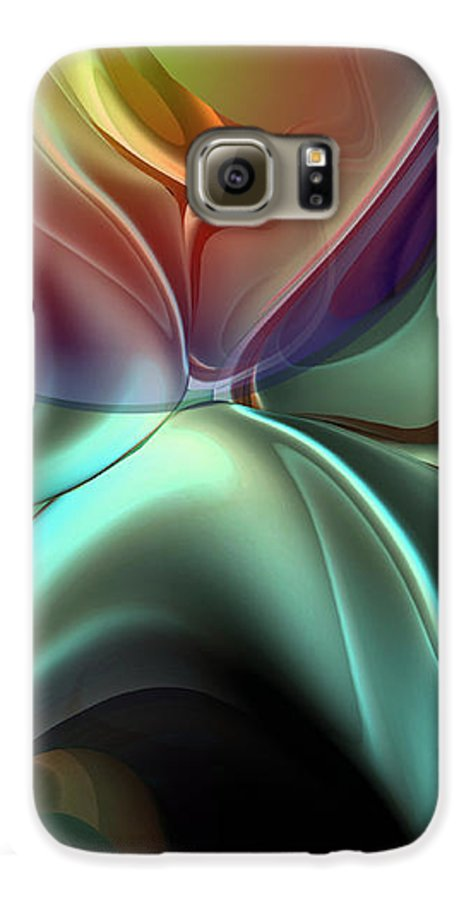Reminiscence Galaxy S6 Case featuring the painting Baroque Music Reminiscence by Christian Simonian