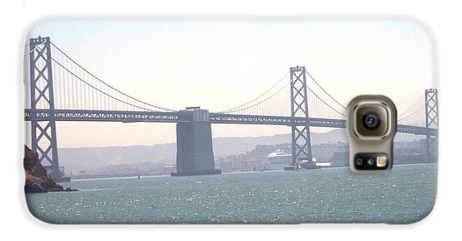 Bay Bridge Galaxy S6 Case featuring the photograph Bay Bridge by Pharris Art