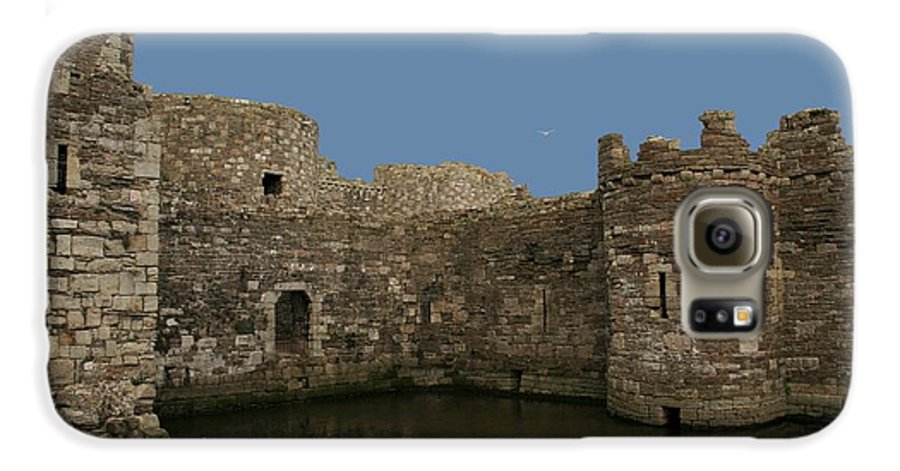 Castles Galaxy S6 Case featuring the photograph Beamaris Castle by Christopher Rowlands