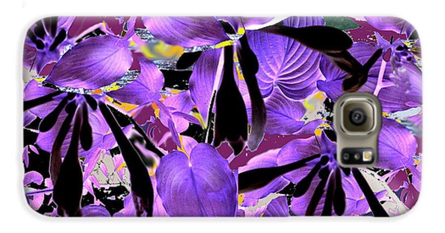 Beware The Midnight Garden Galaxy S6 Case featuring the digital art Beware The Midnight Garden by Seth Weaver