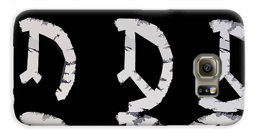 Peace Galaxy S6 Case featuring the digital art Build Up Peace by Michelle Calkins