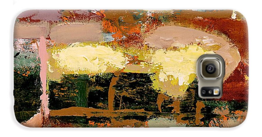 Landscape Galaxy S6 Case featuring the painting Chopped Liver by Allan P Friedlander