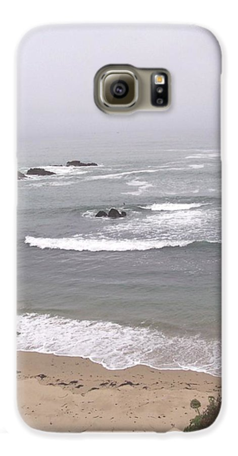 Coast Galaxy S6 Case featuring the photograph Coastal Scene 2 by Pharris Art