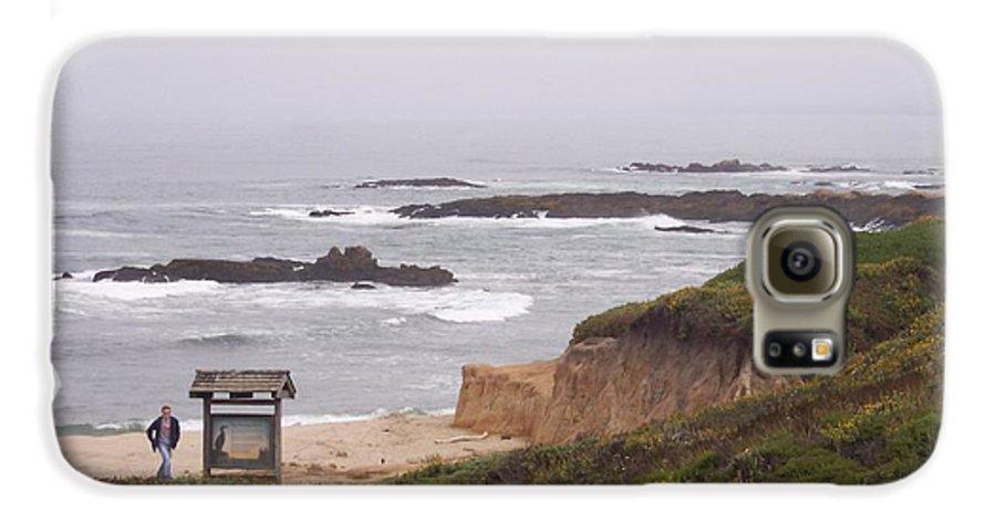 Coast Galaxy S6 Case featuring the photograph Coastal Scene 7 by Pharris Art