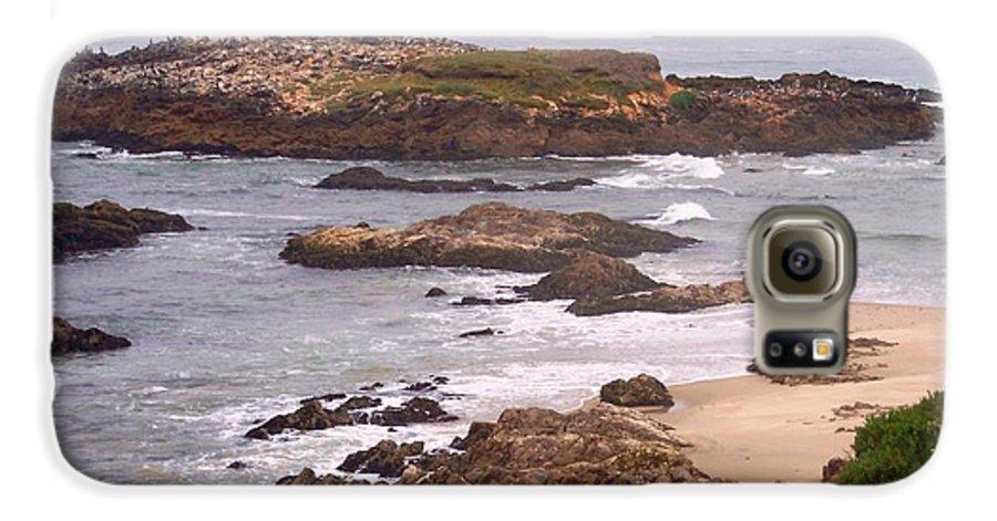Coast Galaxy S6 Case featuring the photograph Coastal Scene 9 by Pharris Art