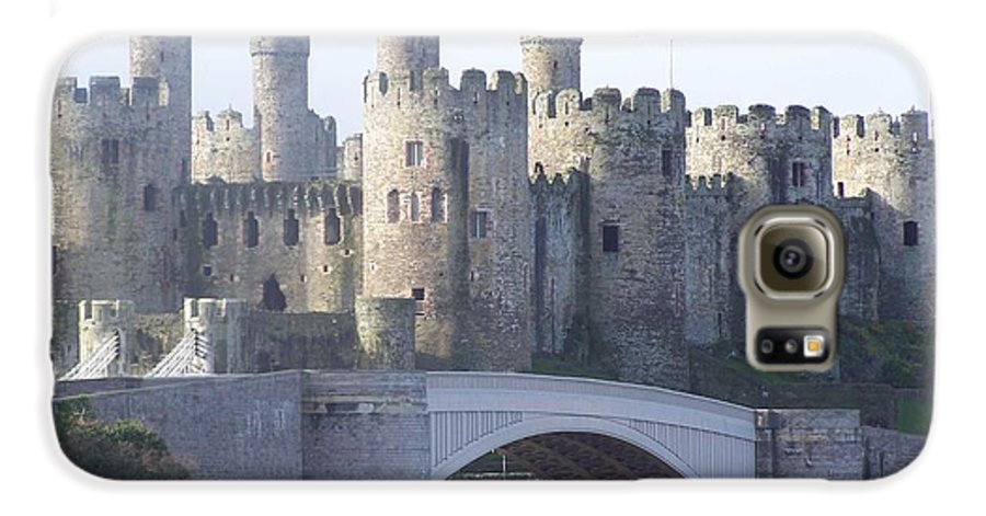 Castles Galaxy S6 Case featuring the photograph Conwy Castle by Christopher Rowlands
