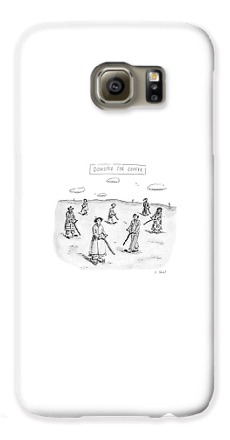 Dowsing For Coffee Galaxy S6 Case for Sale by Roz Chast