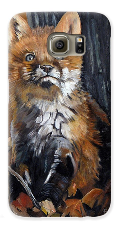 Southwest Art Galaxy S6 Case featuring the painting Dreamer by J W Baker