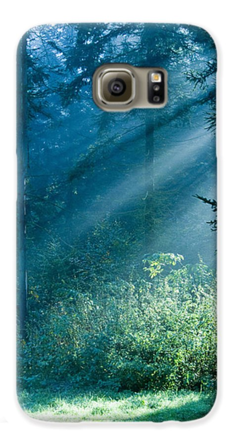 Nature Galaxy S6 Case featuring the photograph Elven Forest by Daniel Csoka