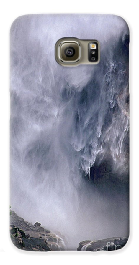 Waterfall Galaxy S6 Case featuring the photograph Falling Water by Kathy McClure
