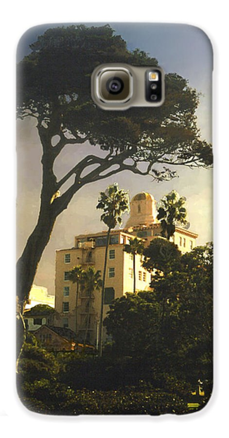 Landscape Galaxy S6 Case featuring the photograph Hotel California- La Jolla by Steve Karol