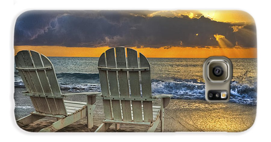 Zen Galaxy S6 Case featuring the photograph In The Spotlight by Debra and Dave Vanderlaan