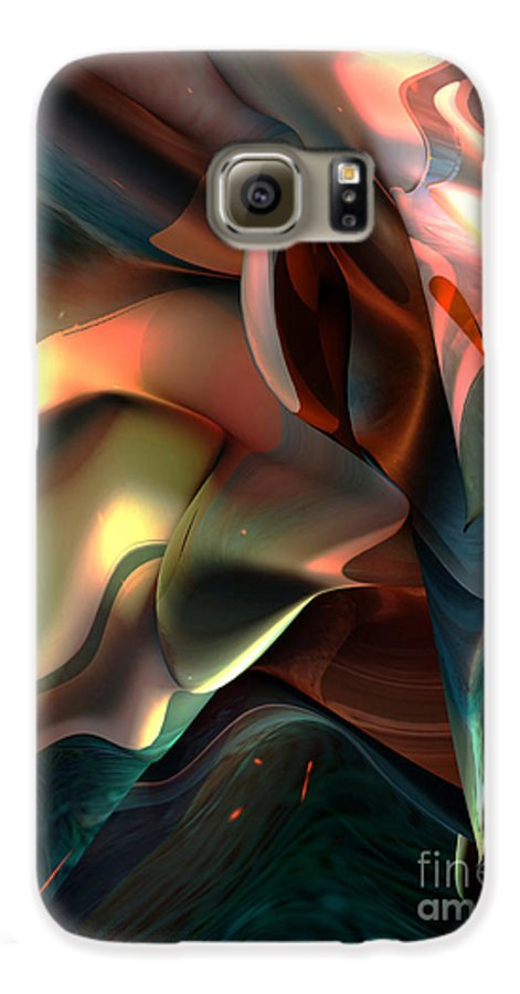 Painter Galaxy S6 Case featuring the painting Jerome Bosch Atmosphere by Christian Simonian