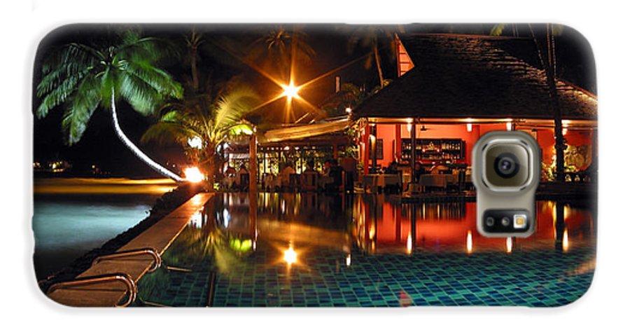 3scape Photos Galaxy S6 Case featuring the photograph Koh Samui Beach Resort by Adam Romanowicz
