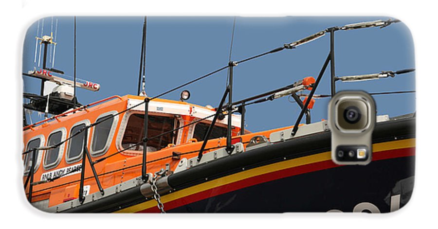 Life Galaxy S6 Case featuring the photograph Life Boat by Christopher Rowlands