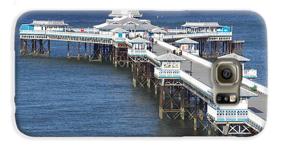 Piers Galaxy S6 Case featuring the photograph Llandudno Pier by Christopher Rowlands