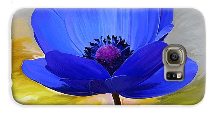 Fine Art Galaxy S6 Case featuring the painting Lord Lieutenant by Patricia Griffin Brett
