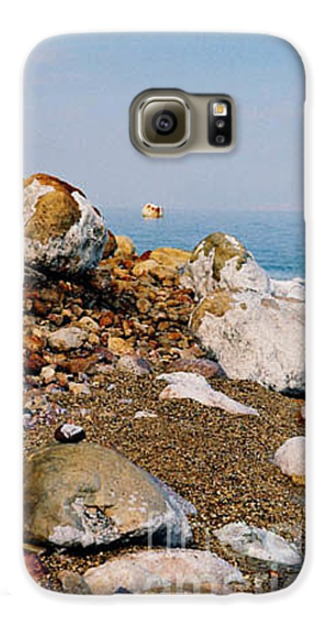 Dead Sea Galaxy S6 Case featuring the photograph Lot's Wife by Kathy McClure