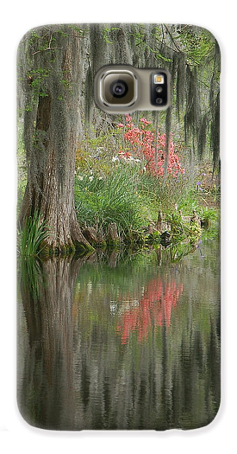 Lowcountry Galaxy S6 Case featuring the photograph Lowcountry Series I by Suzanne Gaff