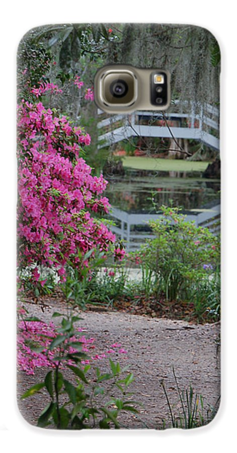 Garden Galaxy S6 Case featuring the photograph Lowcountry Series II - Ode To Monet by Suzanne Gaff
